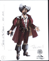 The Taming of the Shrew Costume Designs by Bill Black