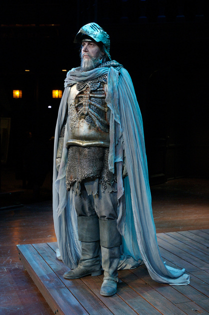 the role of the ghosts of hamlets father in the play hamlet